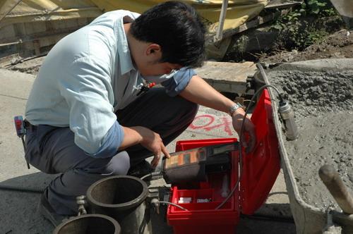 商品混凝土检测