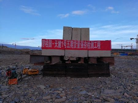 碧桂园天麓1号五期货量强夯检测工程